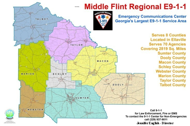 Middle Flint Regional E911 Communications Center on